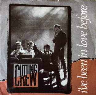 "Cutting Crew ‎- I've Been In Love Before (7"") (G-VG/VG)"